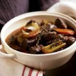 Beef Stewed in Wine