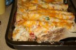 Family low fat chicken enchiladas