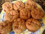 Low Fat, Low Sugar Banana-Strawberry Muffins