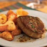 Filet Mignon with Sweet Bourbon-Coffee Sauce