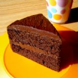 Healthy Flourless Chocolate Cake (from healthy indulgences blog)
