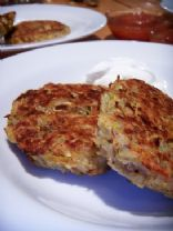BAKED! Vegetable Latkes