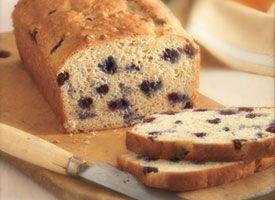 Blueberry - Banana - Oat Bread