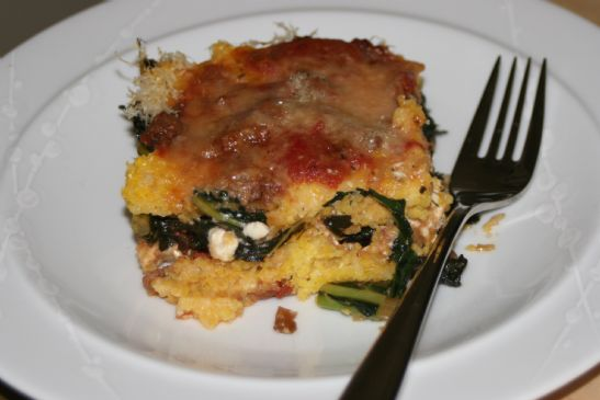 Dino Kale Lasagna Recipe | SparkRecipes