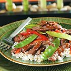 Image of Asian Beef With Snow Peas, Spark Recipes