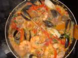 Savana's Seafood Paella