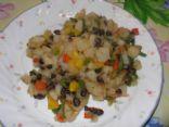 VEGAN Potatoe/Black Bean skillet