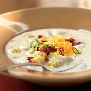 Healthified Potato Soup