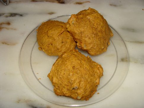 Pumpkin cookies low fat
