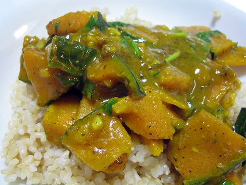 Coconut Milk & Kabocha Curry