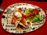 Darrin's Chicken Enchiladas