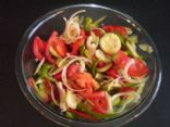 Fresh Salad (must use food processor)