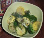 Warm Vegetable Salad (easy)