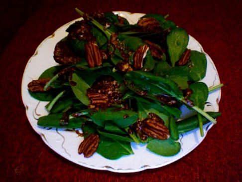 Spinach Salad with Provencal Dressing