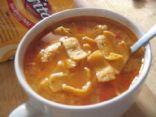 Cheesy Chicken Taco Soup