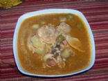 Asopao Boricua (chicken soup)
