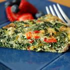 Quick Italian Spinach Pie