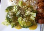 Broccoli With Orange Sauce