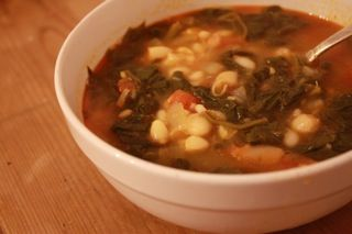 White Bean and Spinach Soup