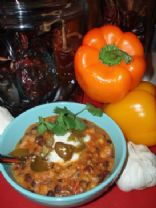 Convertible Mexican Black Bean and Veggie Soup