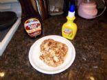 Almond Oatmeal Pancakes