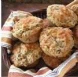 Ham and Cheese Rye Muffins