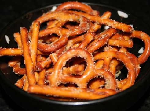 Image of Andi's Butter Ranch Pretzel Snack Mix, Spark Recipes