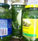 Garlicky Dill Fridge Pickles