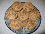 HealthierLynn's Whole Wheat Banana Muffins