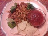 Kasey's Chili Colorado Dinner