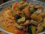 1 Type of Vegetable Pancit Bijon-Vegetable Rice Noodle