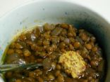 Pseudo-Sophisticated French Lentil Soup