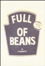 Full of Beans (mostly) Vegetarian Cookbook