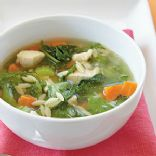 Chicken-Orzo Soup Recipe