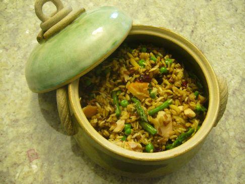 Image of Amy O's Salmon Rice Salad, Spark Recipes