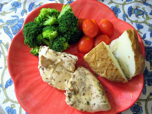 Proven�al Chicken with White Wine Lemon Butter Sauce