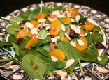 Andi's Vegetarian Jamaican Jerk Spicy Salad with Cranberries, Almonds, and Mandarin Oranges
