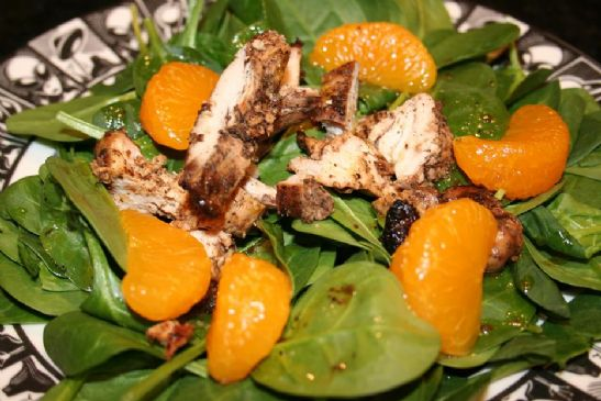 Image of Andi's Jamaican Jerk Chicken Salad With Mandarin Oranges, Spark Recipes