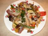Roasted Vegetables w/ Balsamic Vinegar & Penne