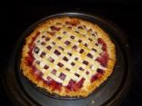 Fresh Cherry Pie, with Tapioca