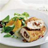 Spinach, Cheese & Pesto Stuffed Chicken Breast