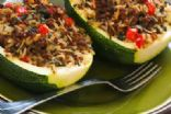 Chili-Beef-Stuffed Zucchini