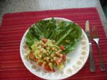 Garbanzo, Cucumber Relish