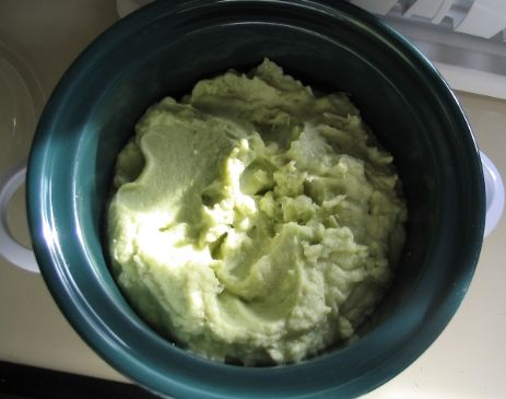 Avocado Mashed Potatoes