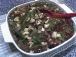 mushrooms and green beans al a grecque