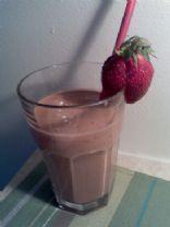 Chocolate Strawberry Smoothie