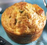 Bacon-cheddar breakfast muffins