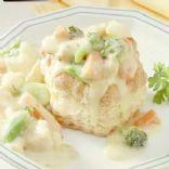Savory Chicken & Vegetable Shells