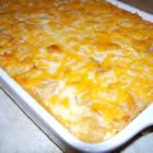 Creamy Mac & Cheese with Ham