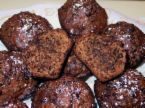 Low Fat Dark Chocolate Muffins